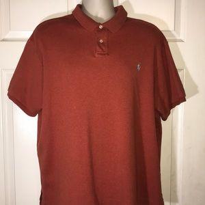Polo Ralph Lauren Men's xxl orange Ss shirt